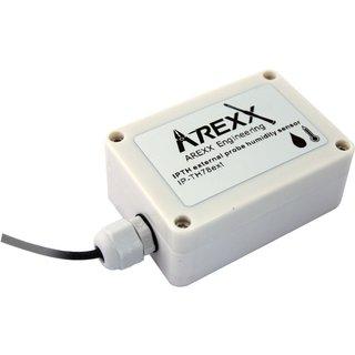 AREXX Funk-Datenlogger-System, Temperatur- und Luftfeuchtigkeit-Sensor, mit externem Fühler