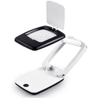 Maximex LED-Lupenleuchte, faltbar, 5-fache Vergrößerung