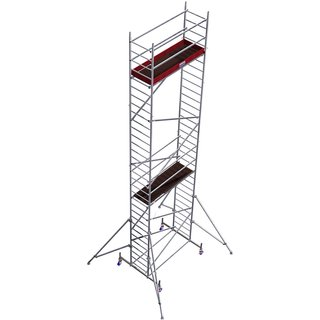 Fahrgerüst »MONTO«, 830 cm Gerüsthöhe, Tragfähigkeit 240kg