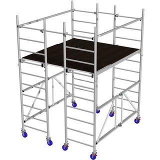 Plattformgerüst »MONTO«, 280 cm Gerüsthöhe
