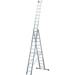 Vielzweckleiter »STABILO«, Anzahl Sprossen: 36, Aluminium