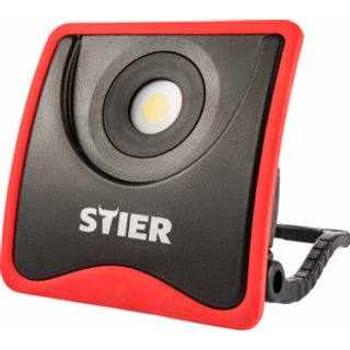 STIER Akku-COB-LED-Baustrahler 2200 Lumen 7.800 mAh