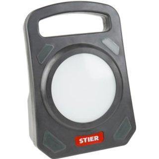 STIER SMD-LED Baustrahler 50 W 4000 Lumen mit 3 Schuko-Steckdosen