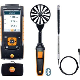 Testo 440 Strömungs-Kombi-Set 2 mit Bluetooth