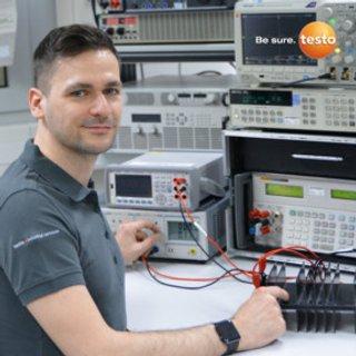 Testo Kalibrierung Stromzange AC/DC