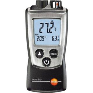 Testo Luft- und Infrarot-Temperaturmessgerät 810