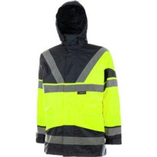 Warnschutz Parka 5-in-1 EN 20471 3.2 gelb