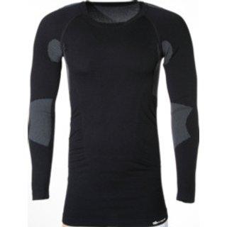 Thermo Unterwäsche Longshirt Thermal schwarz