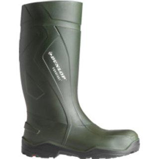 Gummistiefel S5 CI SRC Dunlop Purefort Plus Full Safety dunkelgrün