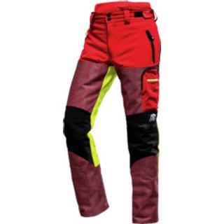 Schnittschutz Bundhose Defender Pro 75 cm rot