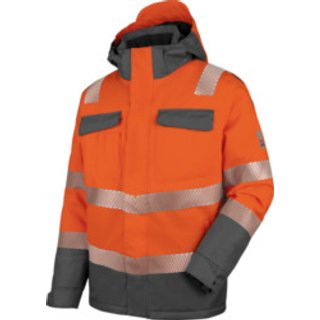 Warnschutz Parka Neon EN 20471 3 orange anthrazit