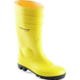 Gummistiefel S5 SRA Dunlop gelb