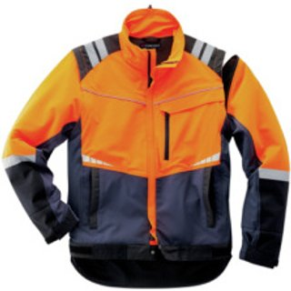 Forst Arbeitsjacke Profi navy orange schwarz