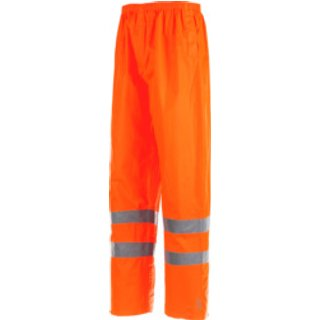 Warnschutz Regenhose EN 20471 1.2 orange