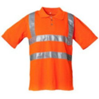Warnschutz Poloshirt PLA orange
