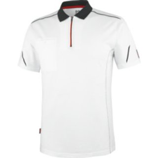 Poloshirt Stretch X weiß
