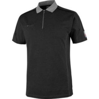 Poloshirt Stretch X schwarz