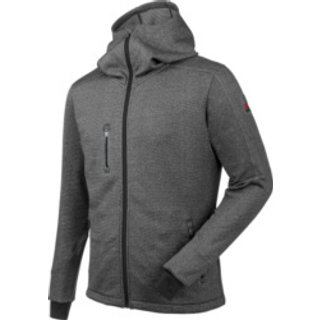 Fleecejacke Aquarius grau meliert