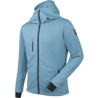 Fleecejacke Aquarius blau meliert