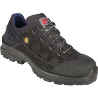 Sicherheitsschuhe S2 ESD SRC Comfort Flexitec schwarz blau