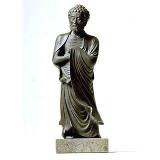 Buddha-Skulptur 'Shakiyamuni', Kunstguss