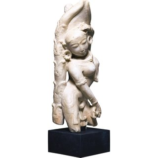 Replikat 'Tanzende Apsara', Kunstguss