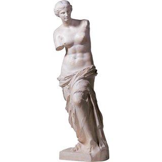 Skulptur 'Venus von Milo' (Reduktion, Höhe 88 cm), Kunstmarmor