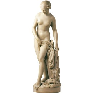 Etienne-Maurice Falconet: Skulptur 'Badende' (Originalgröße), Kunstmarmor