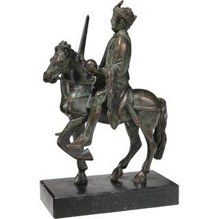 Reiterstatuette 'Karl der Große', Version in Bronze, Skulptur