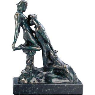 Auguste Rodin: Skulptur 'Ewiges Idol' (Idole éternelle), Bronze