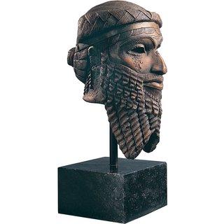Replikat 'Kopf des Sargon von Akkad', Kunstguss