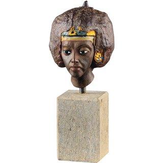 Kopf der Königin Teje, Kunstguss