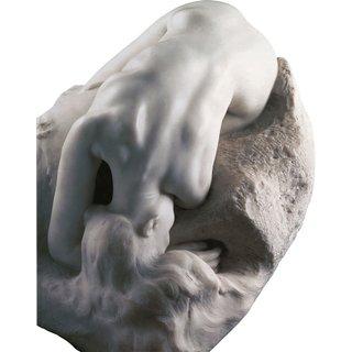 Auguste Rodin: Skulptur 'La Danaide' (1889/90), Version in Kunstmarmor