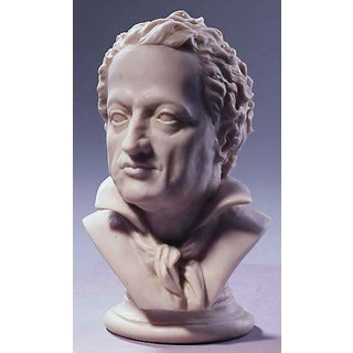 Goethe-Büste, Version in Kunstmarmor