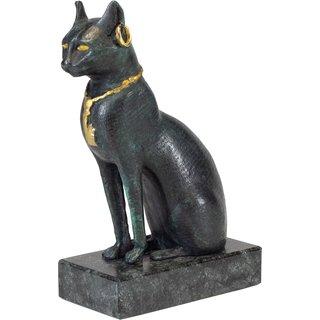 Bastet-Katze mit Collier, Schmuck