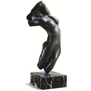 Auguste Rodin: Skulptur 'Torso der Adele' (Originalgröße), Version in Kunstbronze