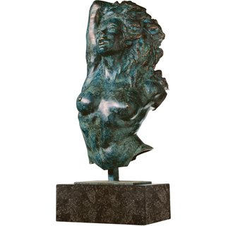 Costanzo Mongini: Skulptur 'La Greca', Version in Bronze
