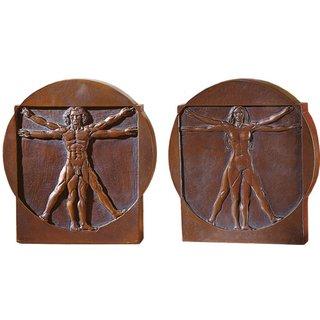 Leonardo da Vinci: 'Schema delle Proporzioni', Standrelief 'Mann' und 'Frau'