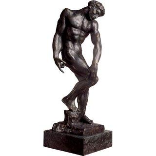 Auguste Rodin: Skulptur 'Adam oder der große Schatten' (1880), Version in Bronze