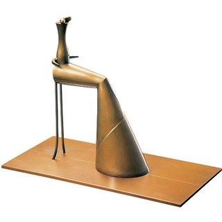 Paul Wunderlich: Skulptur 'Femme assise', Bronze