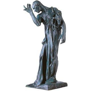 Auguste Rodin: Skulptur 'Pierre de Wissant', Version in Bronze