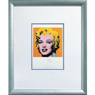 Andy Warhol: Bild 'Shot Orange Marilyn' (1967), gerahmt
