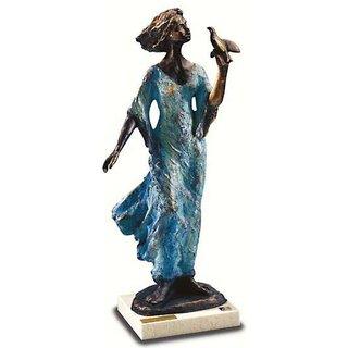 Lluis Jorda: Skulptur 'Peace', Kunstbronze