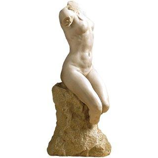 Paul Wayland Bartlett: Skulptur 'Torso einer Frau' (1895), Version in Kunstmarmor
