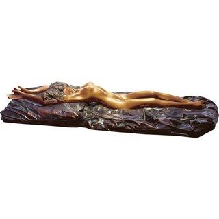 Bruno Bruni: Skulptur 'La riposata', Bronze