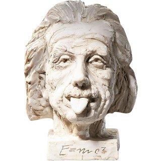J. Nemecek: 'Einstein-Kopf' (groß), Kunstmarmor