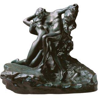Auguste Rodin: Skulptur 'Der ewige Frühling' (1884), Version in Bronze