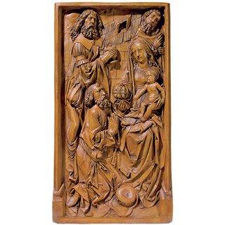 Tilman Riemenschneider: Relief 'Anbetung der Könige', Kunstguss