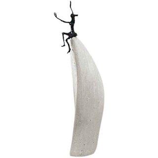 Luise Kött-Gärtner: Skulptur 'Lebensfreude', Bronze auf Steinguss