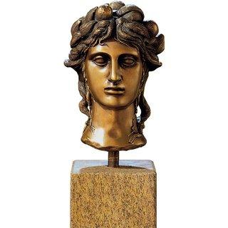 Carlo Maria Mariani: Büste 'La Testa', Bronze, Skulptur